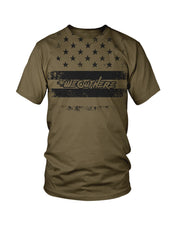 #WeOutHere™ PATRIOT T-SHIRT OLIVE - We Out Here