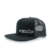 "LIMITED BILLET ""SCRIPT"" SNAPBACK BLACK/STAINLESS - We Out Here"