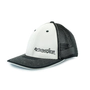 #WeOutHere™ (White/Black) FLEX FIT HAT - We Out Here