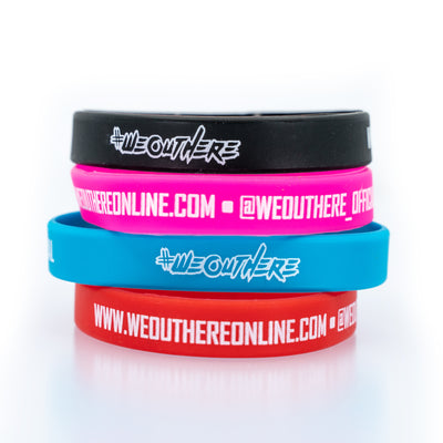 #WeOutHere™ WristBands - We Out Here