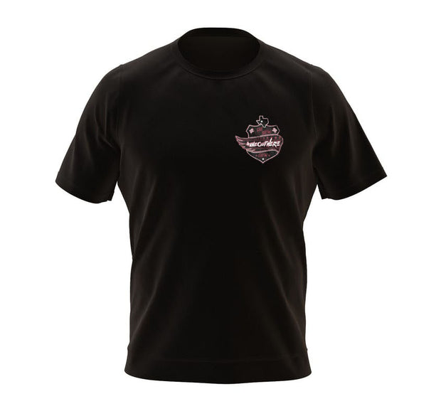 #WeOutHere™ CAR SHOW CREW (Black) T-SHIRT