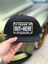 OUT HERE Texas Plate Snap Back Hat
