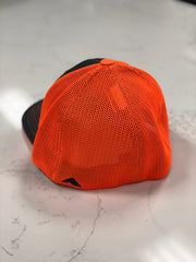 #WeOutHere™ (Gray/Orange) FLEX FIT HAT