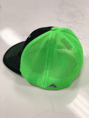 #WeOutHere™ (Black/Green) FLEX FIT HAT