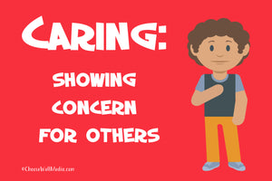 Caring Definition - Character Series