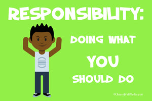 Responsibility Definition - Character Series