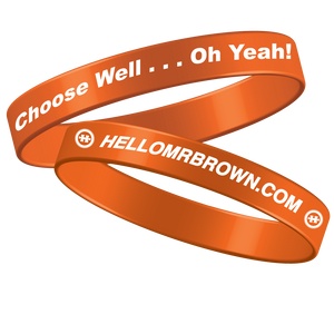 Choose Well Wristbands