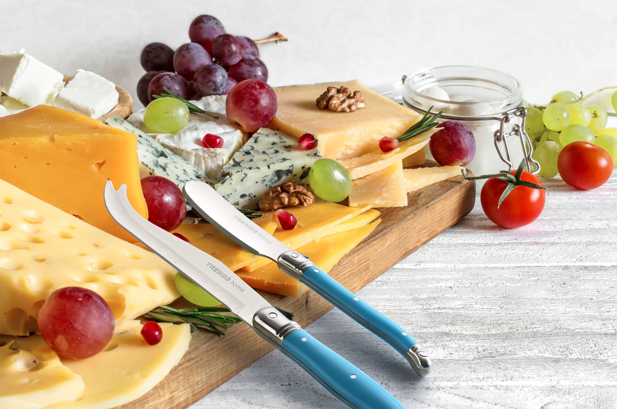 TRENDS home Classic Premium 3 Piece Cheese Knife Set