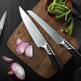 TRENDS Chef 5 Pce Gift Boxed Premium High Quality Designer Chef Knife Set
