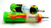 Spill proof Silicone Dab Straw