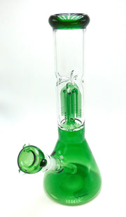 4 Arm Tree Perc Beaker Tobacco Water Pipe