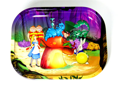 Alice in Wonderland Rolling Tray