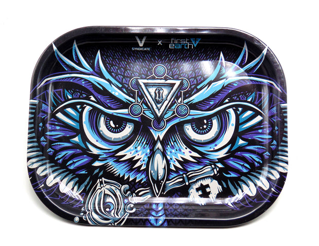 all seeing owl, rolling tray, denver head shop, colorado smoke shop