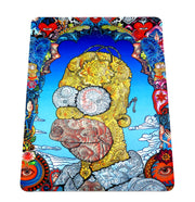 Artsy Homer Simpson Glass Protection Mat