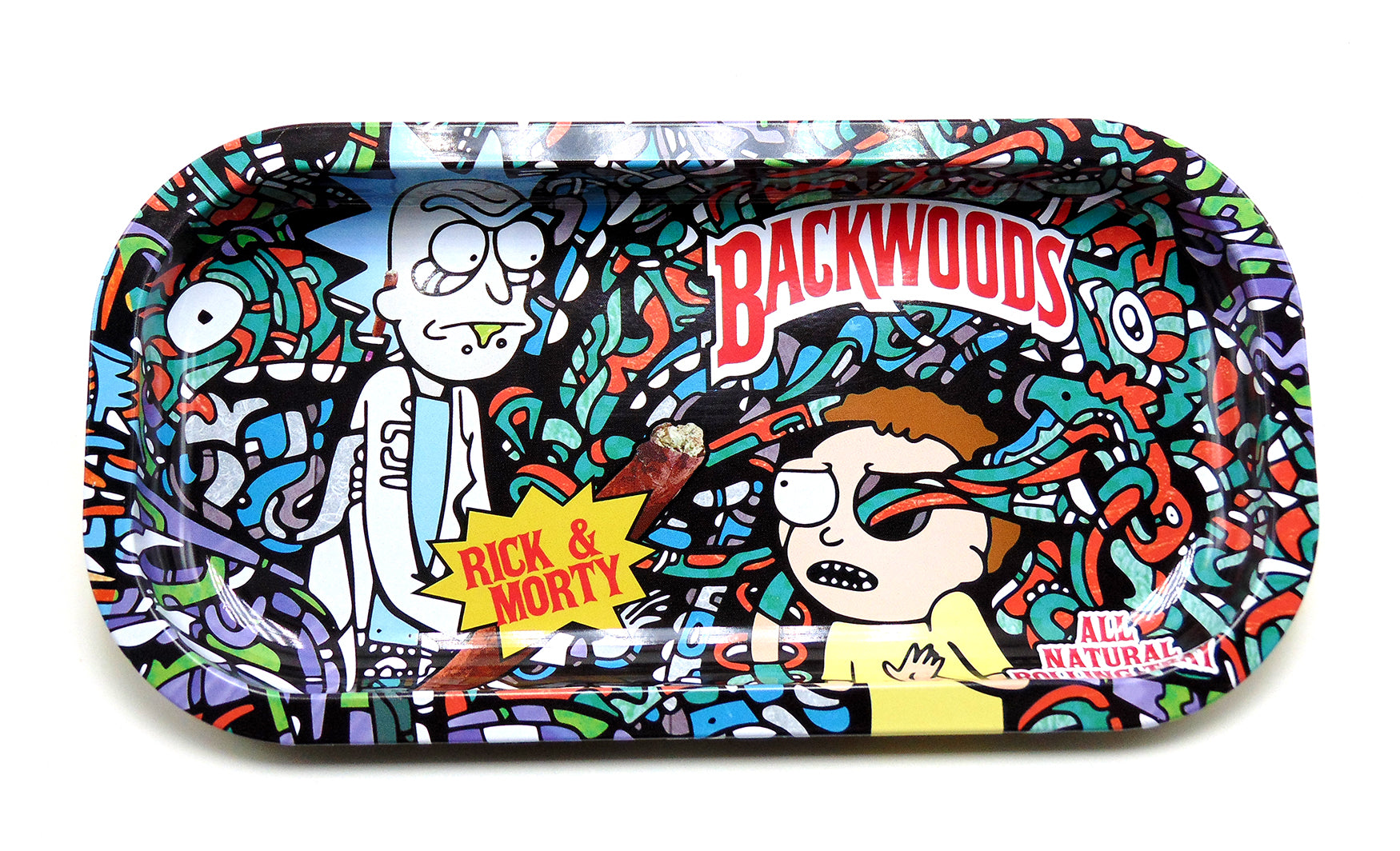 online retailer 9fc88 7dc86 Rick and Morty Backwoods Rolling Tray