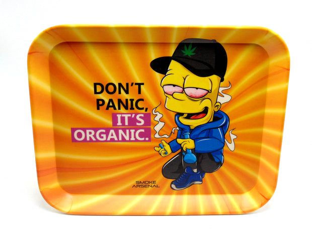Bart Simpson Bamboo Rolling Tray