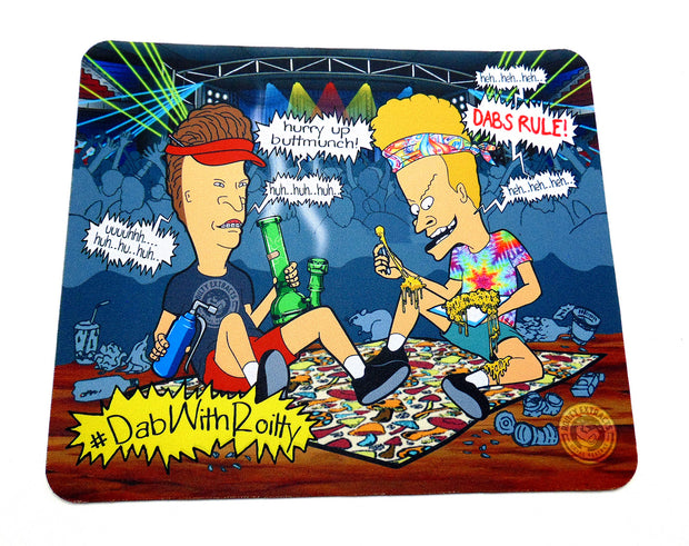 Beavis And Butthead Glass Protection Mat