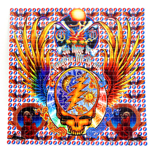 "Blotter Art ""Dead Wings"""