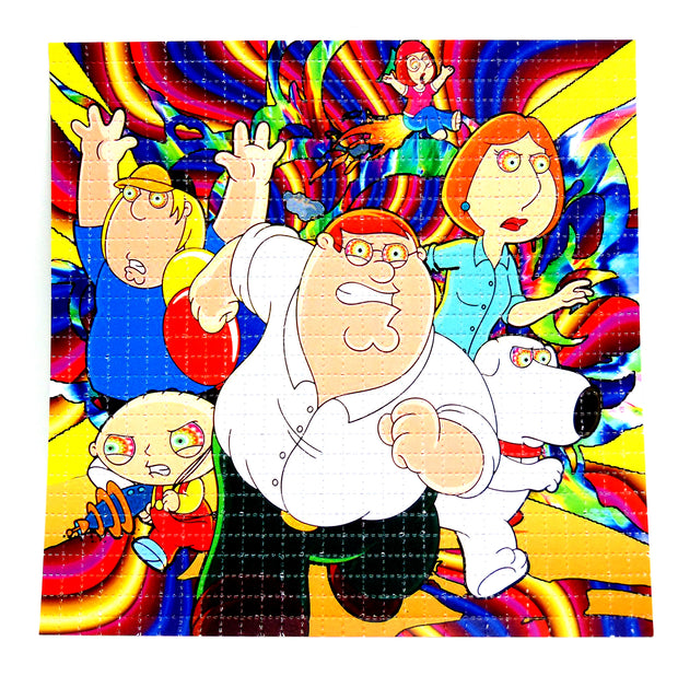"Blotter Art ""Family Guy"""