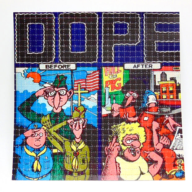 "Blotter Art ""Furry Freak Brothers"""