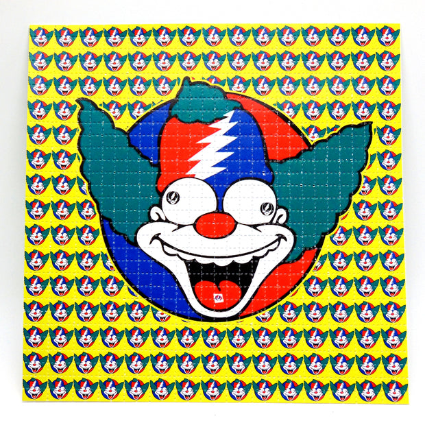 "Blotter Art ""Krusty the Clown"""