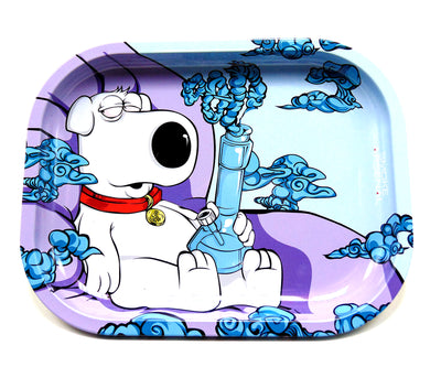 Family Guy Brian Smoking Tray