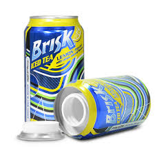 Brisk Iced Tea Safe Can