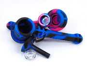 Silicone Bubbler W/ Glass Bowl