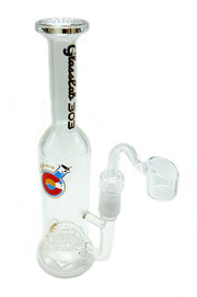 GlassLab 303 Honeycomb Bottle Oil Rig
