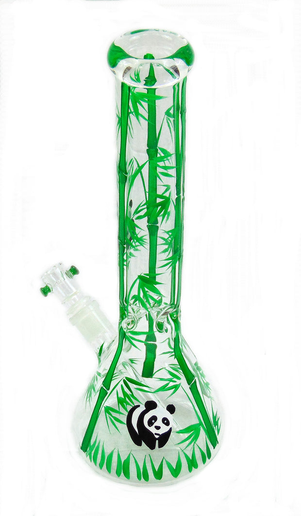 "15"" Panda Beaker Tobacco Water Pipe"