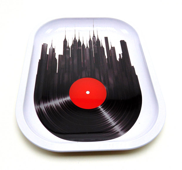 City Scapes Record Rolling Tray