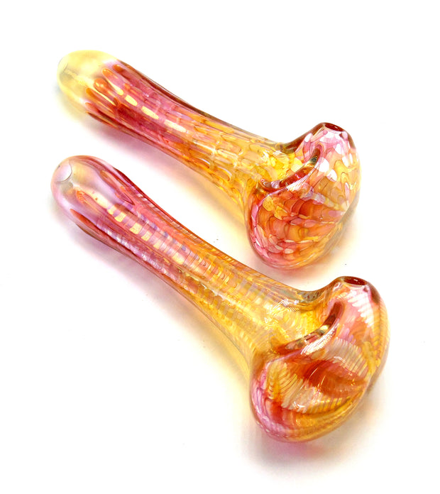 Fumed Wrapped and Raked Spoon