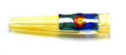 Fumed Colorado Themed Chillum