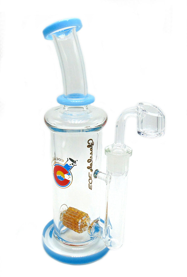 GlassLab 303 Lace Cubed Maria Oil Rig