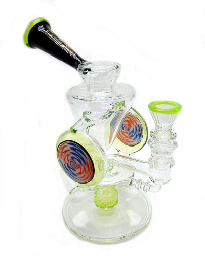 Double Wig-Wag Slyme Disc Recycler