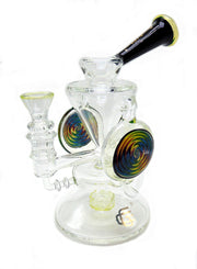 Double Wig-Wag UV Reactive Disc Recycler