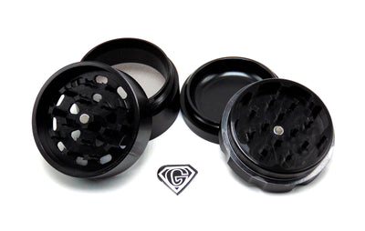 Black Dr. Greens 4 Piece Grinder