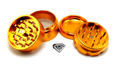 Gold Dr. Greens 4 Piece Grinder