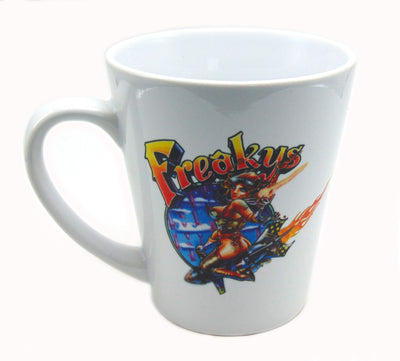 Freakys coffee mug denver head shop
