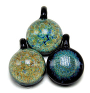 Fumed Fritted Pendant