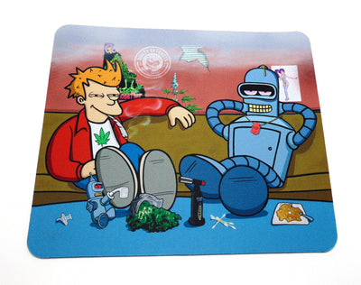 Futurama Couch Sesh Glass Protection Mat