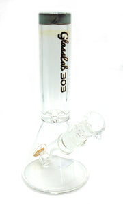 GlassLab 303  Mini Beaker Tobacco Water Pipe