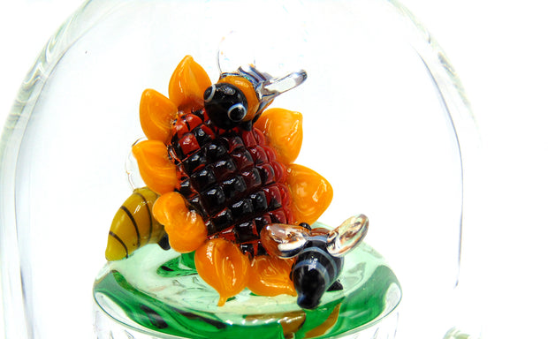 HoneyBee Inline Shower Head Tobacco Water Pipe