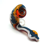 Heady Line Work Wig Wag Sherlock Tobacco Pipe