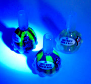 Hot Glass Uv/Glow in the Dark 14mm Pull Bowl
