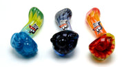 Hot Glass Small Sherlock Tobacco Pipe