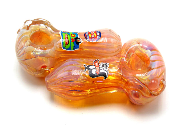 Hot Glass Thick Inside Out Chuncker Tobacco Pipe
