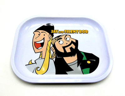 Jay and Silent bob Cartoon Rolling Tray