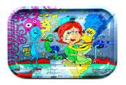 Large Marge and Lois Rolling Tray