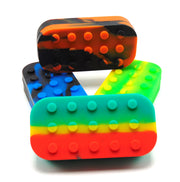 Lego Block Silicone Concentrate Container